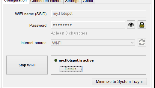 Virtual WiFi Router For Windows